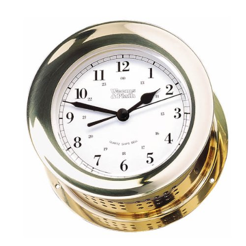 is Collection Quartz Ship's Bell Clock (Brass) ()