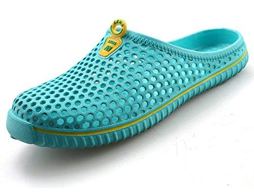 Piscine Bleu Homme De Salle Plage H2233 Bains Chaussons Femme 1 Jardin Sandales Outdoor Chaussures Leda AqnIxw1fFI