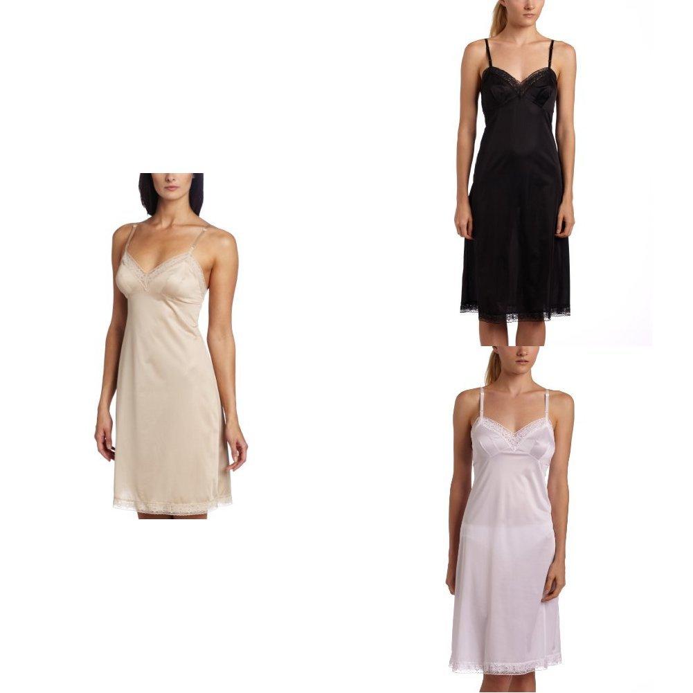 Vanity Fair Womens Rosette Lace Full Slip 10103