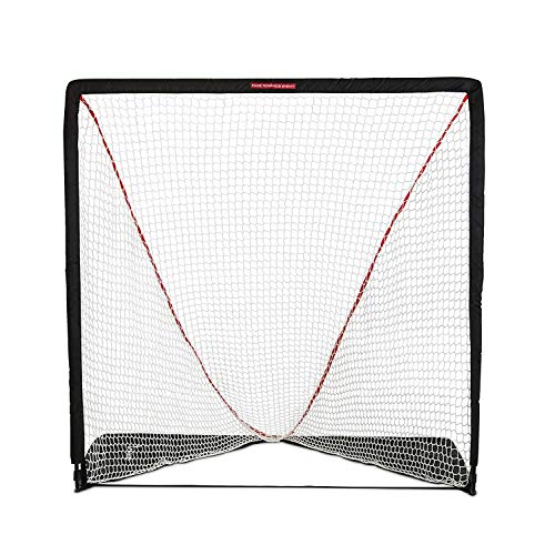 Rukket Rip It Portable Lacrosse Goal | Pop Up Lax Net for Backyard Shooting | Collapsible, Foldable, Travel Goals (6x6)