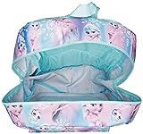 Disney Little Girls Frozen Elsa Print Backpack, Blue, One Size