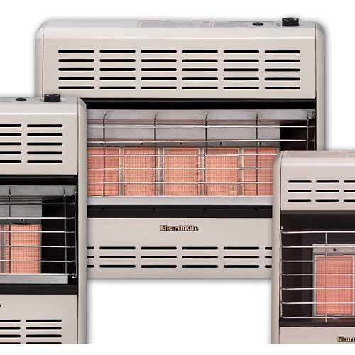 HeathRite Vent-Free Radiant Heater LP 25000 BTU, Thermostatic Control