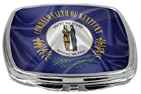 Rikki Knight Flag Design Compact Mirror, Kentucky State, 3 Ounce