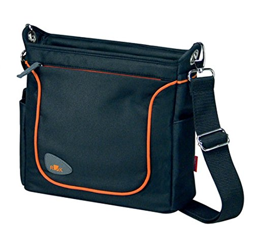 KlickFix bike bags handlebar Allegra Fashion black by KlickFix