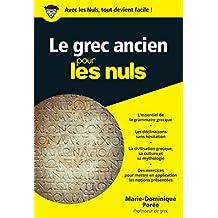 Le grec ancien pour les Nuls poche (Poche pour les Nuls)