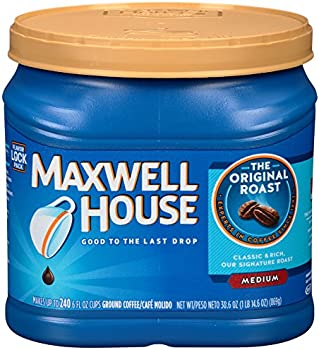 Maxwell House Ground Coffee Cans