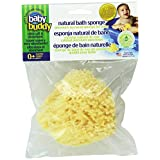Baby Buddy Natural Bath Sponge, Natural, 1-Pack