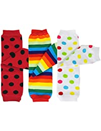 Baby 3-Pair Colorful Leg Warmers
