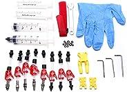 Bicycle Hydraulic Disc Brake Mineral Oil Bleed Kit Tools for TEKTRO MAGURA Louise Marta