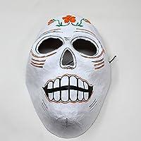 Mascara de la Muerte con Flores