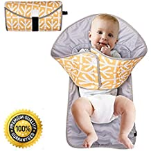 Deluxe Portable Clean Hands Changing Pad Waterproof Baby Diaper Changing Mat with Baby changing StationAnd Portable Changing Pads