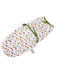 DPSKY Newborn Baby Swaddle Blanket Adjustable Wrap Organic Cotton Swaddle for Infant Boys Girls