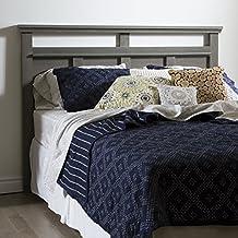 South Shore Furniture Versa Full/Queen Headboard (54/60-Feet '), Gray Maple