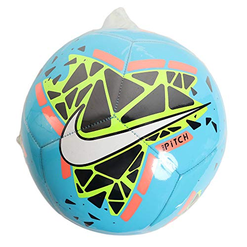 Nike Pitch Training Soccer Ball FootBall ( Color: Blue Hero/Obsidian/Bright Mango/White , Size :5) Price & Reviews