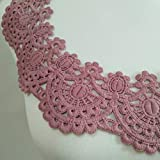 1pc Circular Beautiful Embroidery Lace Fabric DIY