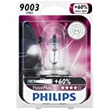 Philips 9003VPB1 VisionPlus Upgrade Headlight Bulb, 1 Pack