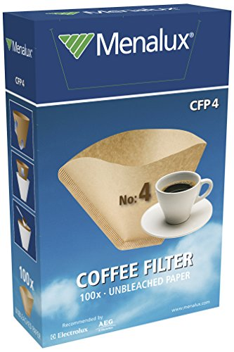 Menalux CFP4 – Filtro 1x4 para cafeteras de goteo, Pa