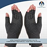 Dr. Frederick's Original Arthritis Gloves for Women & Men - Compression for Arthritis Pain Relief - Rheumatoid & Osteoarthritis - Medium