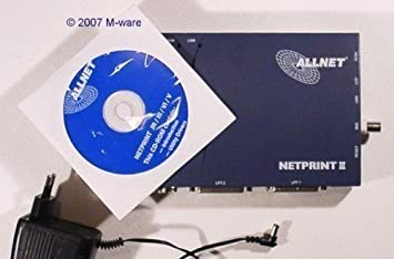 ALLNET Netprint III/IV/V/Junior Download Driver