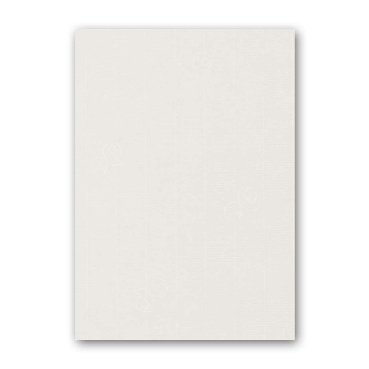 ARTOZ 150x Briefpapier + Bastelpapier Bastelkarton - Taupe - DIN A4 297 x 210 mm – Edle Egoutteur-Rippung – Hochwertiges 220 g m² Tonpapier – Scrapbooking Papier 240 - Ivory-Elfenbein 100 Stück