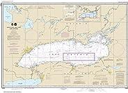 """Noaa Chart 14800 Lake Ontario: 29.04"""" X 40.14"""" P"""