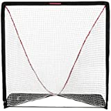 Rukket Rip It Portable Lacrosse Goal   Pop Up Lax Net for Backyard Shooting   Collapsible, Foldable, Travel Goals (6x6)