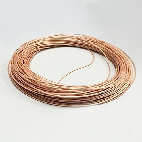 5m-rg178-army-standard-high-temperature-teflon-brown-od18-rf-coaxial-cable-new-good-quality-fast-usa