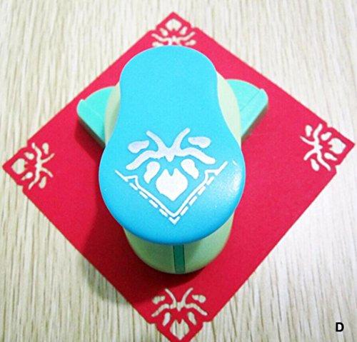 Embossing Device – Iusun DIY Embossing Machine Corner Paper Printing Card Cutter Shaper Scrapbook Punch Kids Handmade Gift (C)
