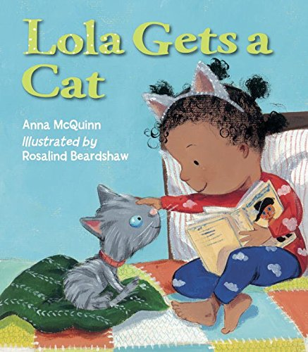 Book Cover: Lola Gets a Cat