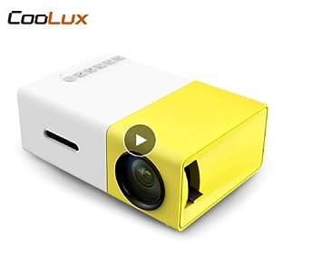 Amazon.com: YG300 YG-300 Mini LCD LED Projector 400-600LM ...