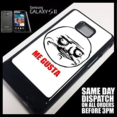 Generic Cover for Samsung Galaxy S2 Rage Comic Me Gusta 4chan Reddit