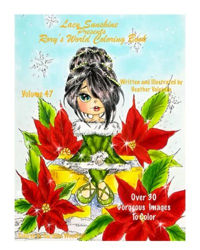 Download Lacy Sunshine Presents Rory's World Coloring Book: Fantasy Fairy Rory Sweet Urchin Magical World (Lacy Sunshine's Coloring Books) (Volume 47) pdf