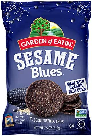 Tortilla & Corn Chips: Garden of Eatin' Sesame Blues