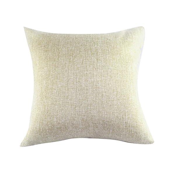 Quadrato blu mare stampato cuscino Chezmax Linen throw Pillow case Sham Slipover Pillowslip federa per la casa divano… 2 spesavip