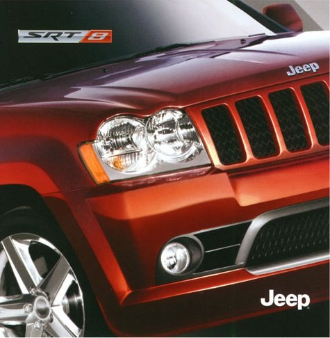 2006-jeep-srt8-grand-cherokee-color-sales-brochure-folder-usa-wonderful-original-