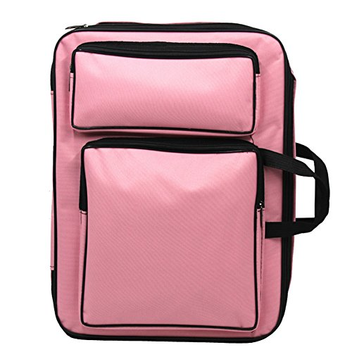 Art Bag (Demarkt Waterproof Portable Drawing Board Bag Sketch Bags Painting Board Bag Art Supplies (Pink))