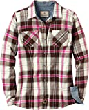 Legendary Whitetails Women's Cottage Escape Flannels Fuchsia Plaid X-Large