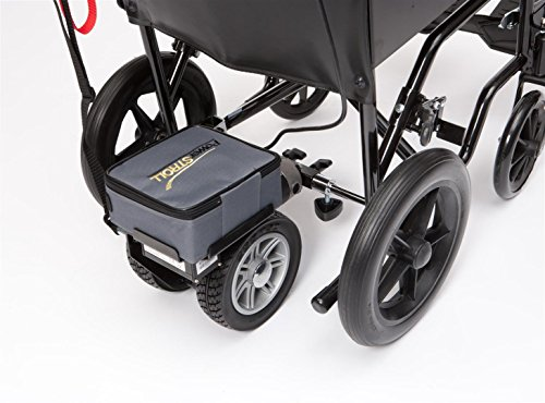 Drive Lightweight Dual Wheel PowerStroll with Reverse to Convert Manual to Electric Wheelchair