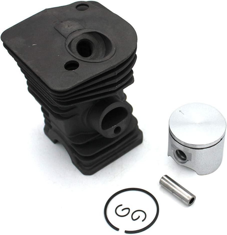 Kit de pist/ón de cilindro Nakisil 40 mm para Husqvarna 340 340E 340EPA 345 345E 345EPA 350EPA PN 503870005 503870073 503870076