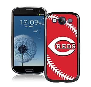 Samsung Galaxy S3 I9300 Cincinnati Reds Black Cellphone Case Customized and Fashion Design