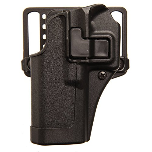BlackHawk Serpa CQC Concealment Belt Loop and Paddle Holster For Glock 26/27/33 - Left Hand, - Hand Paddle