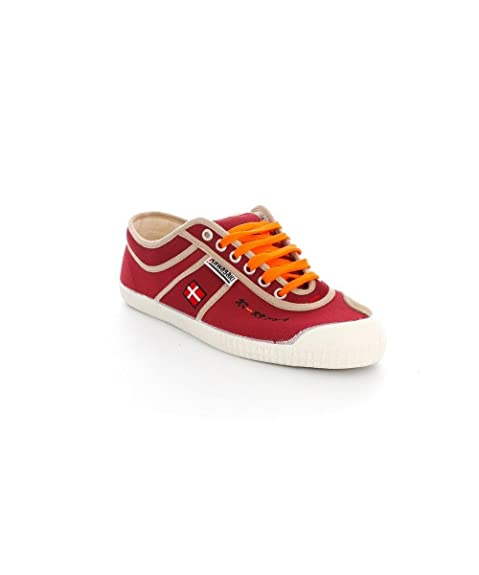 Zapatillas Kawasaki Basic Flag Granate/Naranja 44 Granate: Amazon.es: Zapatos y complementos