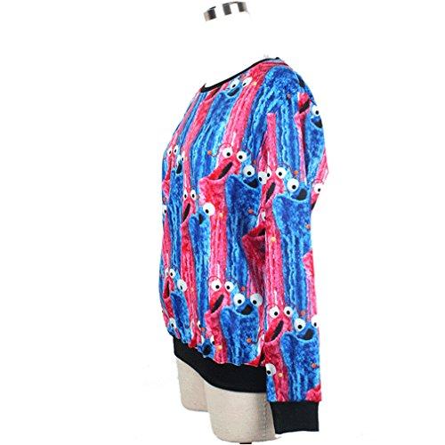 Stampa Digitale Donna Felpe Shirt T Belsen Lovers Eye 7SEq55w
