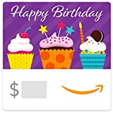 Amazon eGift Card - Birthday Cupcakes