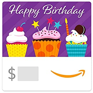 Amazon eGift Card - Birthday Cupcakes (B07TMNGSN4) | Amazon price tracker / tracking, Amazon price history charts, Amazon price watches, Amazon price drop alerts