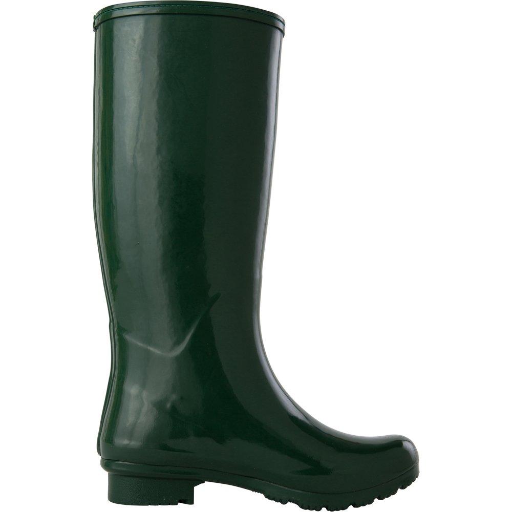 Roma Boots Women's Emma Classic Rain Boots B07285B2YL 10 B(M) US Green