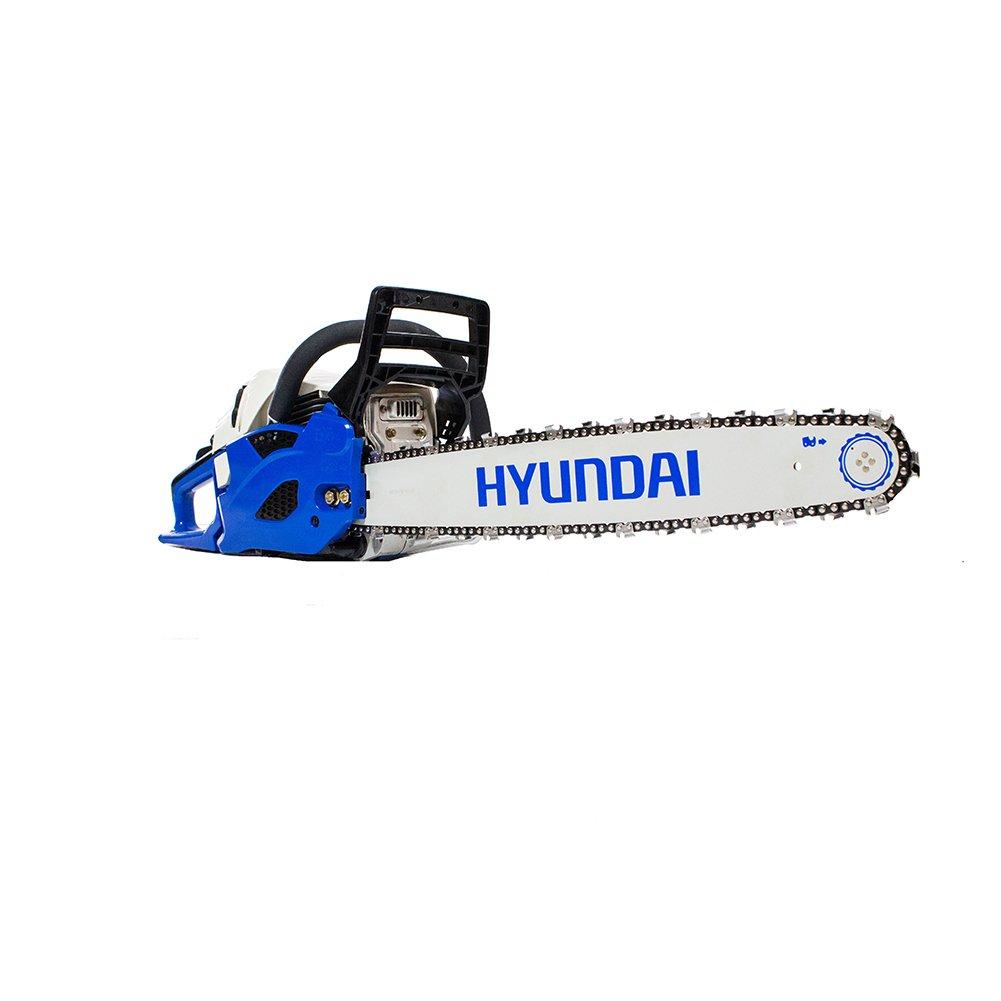 hyundai hyc6222 22 62 cc 2 takt benzin kettens ge blau g nstig bestellen. Black Bedroom Furniture Sets. Home Design Ideas