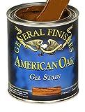 General Finishes GRQ Oil Base Gel Stain, 1 Quart, Gray
