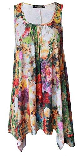 Funky Fashion Shop - Falda - para mujer Spring Floral