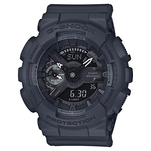 Casio G Shock Black Quartz GMAS110CM 8A
